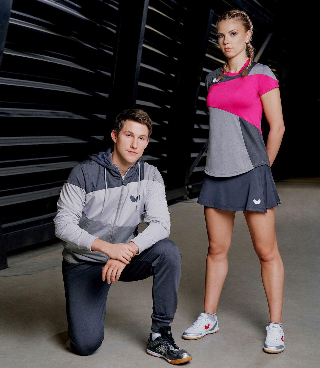 ubiory damskie i męskie jako prezent świąteczny dla tenisisty stołowego